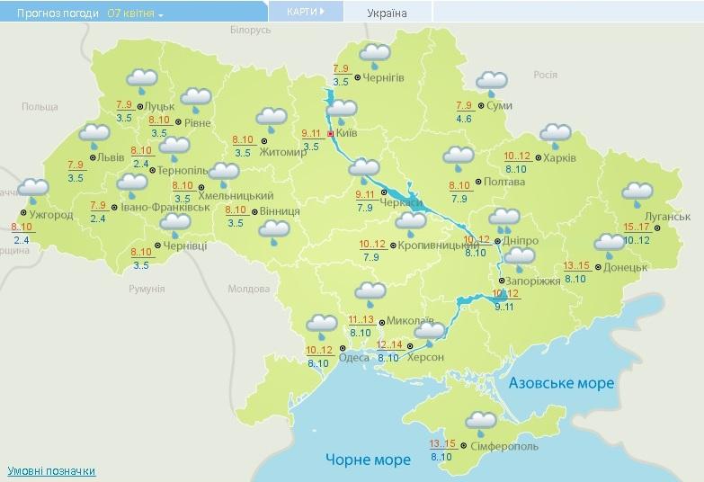 Погода в гурьевке николаевской области