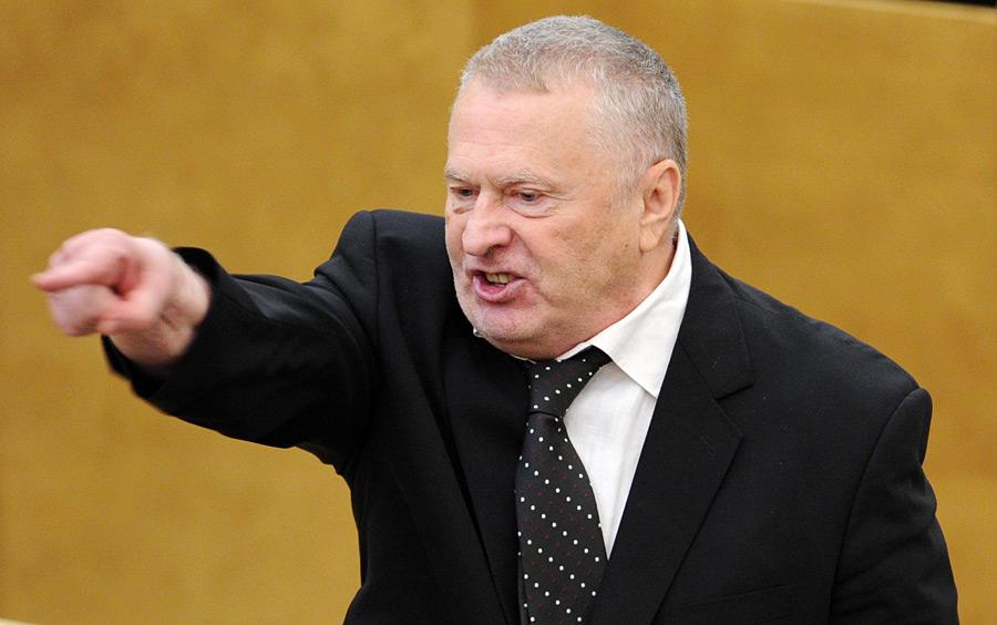 Жириновский сексом нужно заниматься 3 раза в год