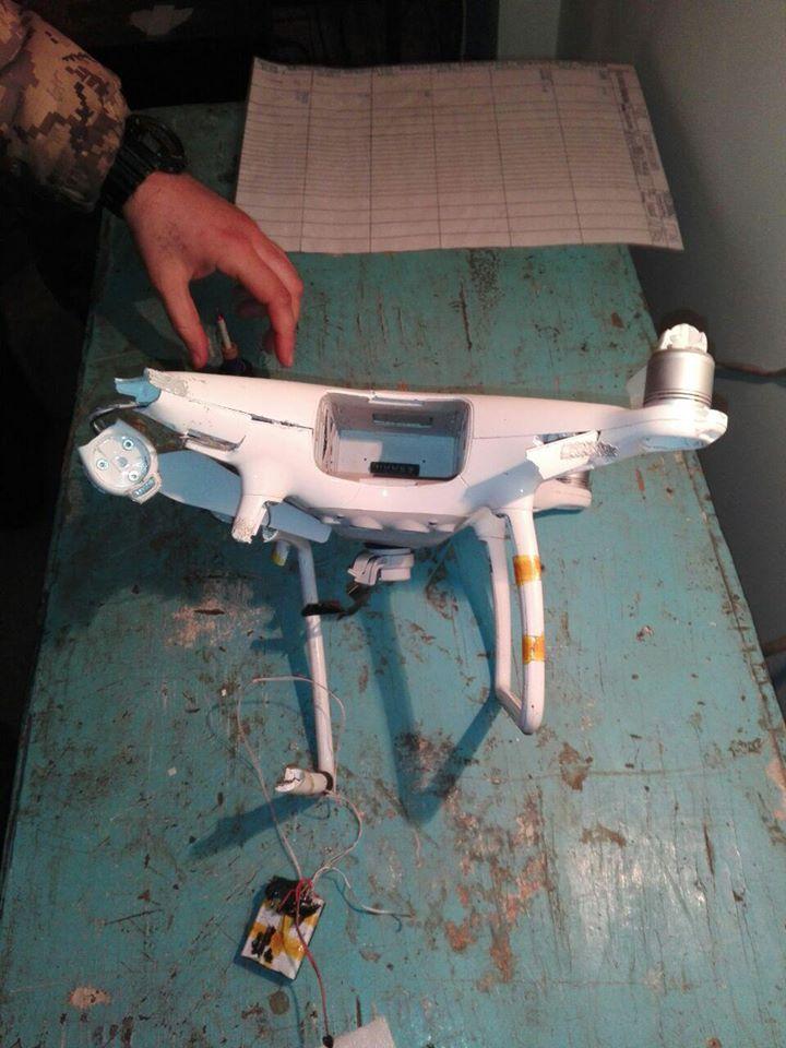 Сбитый аппарат передали специалистам на изучение