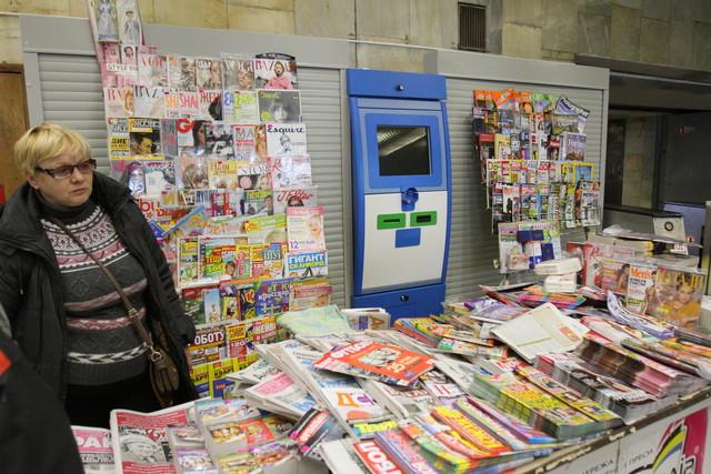 Новые газетные автоматы заработают уже через неделю