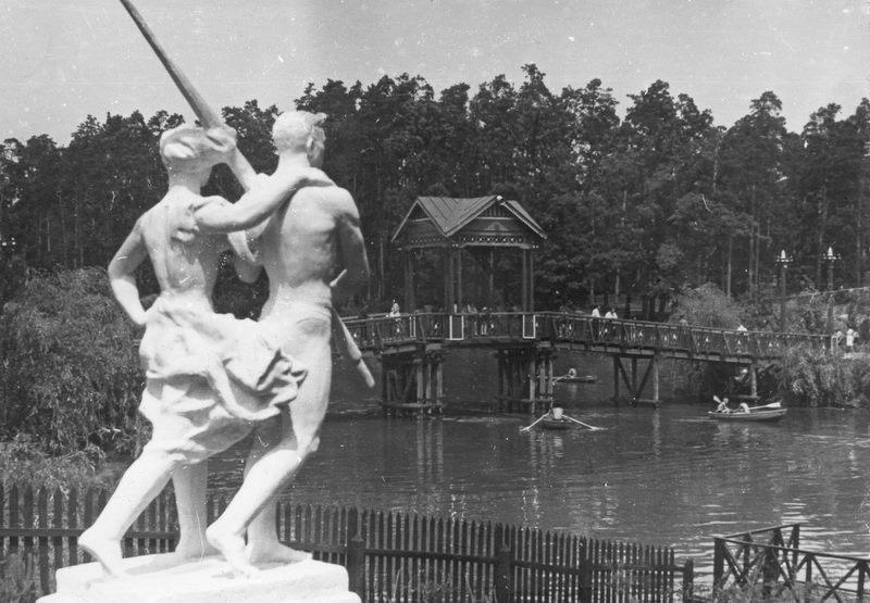 1962. Пуща-Водицкий курортный парк