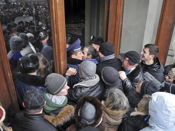 Штурм ОГА во Львове
