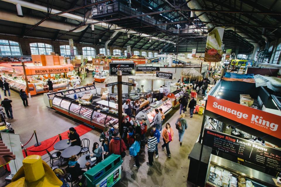 Рынок Святого Лаврентия (Торонто) работает с 1803 года