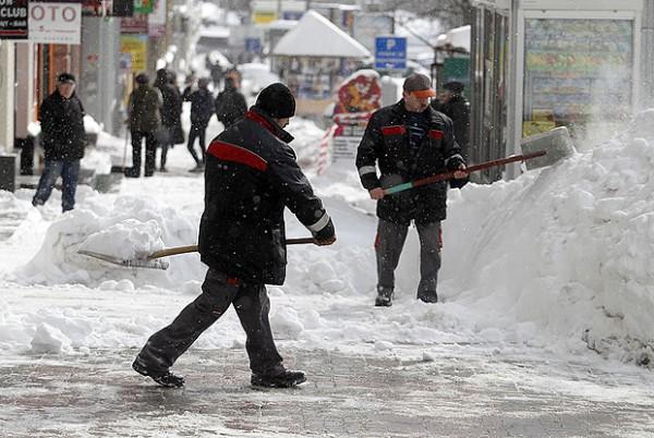 Снегопады в Украине в марте прошлого года побили 100-летний рекорд