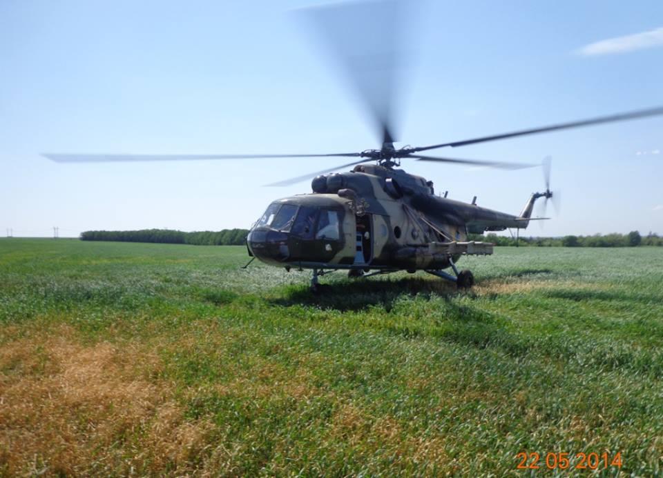 Вертолет генерала Кульчицкого