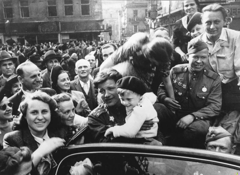 Освобождение Праги 1945 г. Фото Александра Егорова