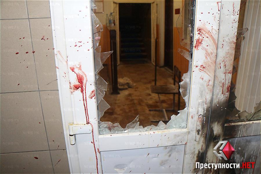 Здание милиции брали штурмом
