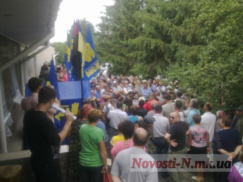 Митинг во Врадиевке 4 июля
