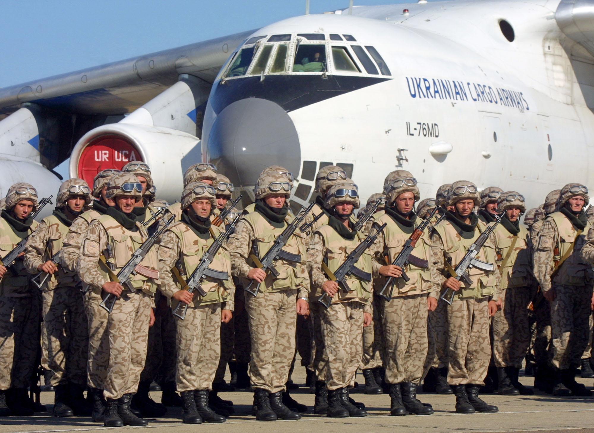 Украинские военные отправляются в Ирак