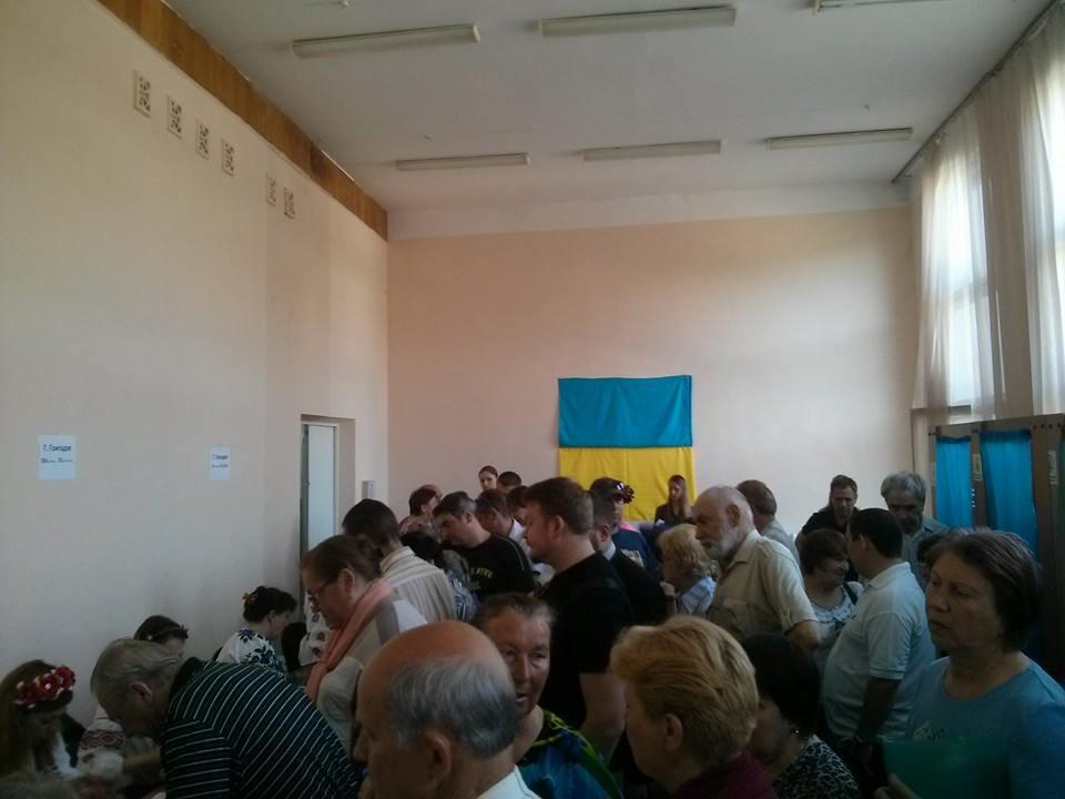 Выборы президента Украины 2014 в Киеве