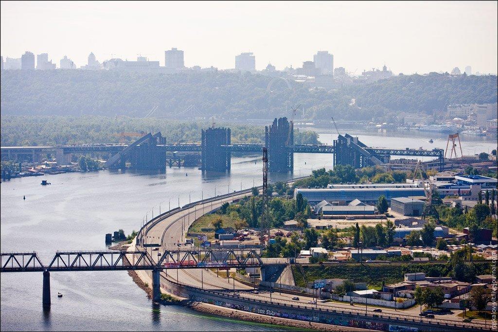 Новые мосты через Днепр