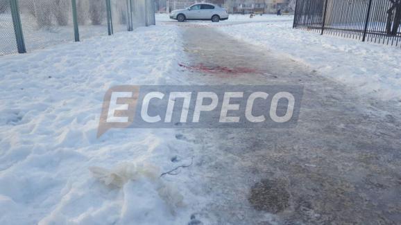 ВКиеве среди улицы убили девушку