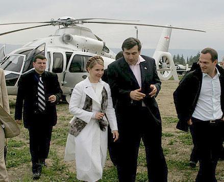 тимошенко и саакашвилли