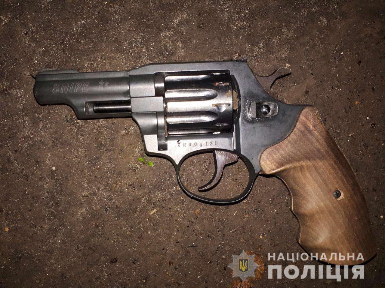 Оружие, из которого был совершен выстрел