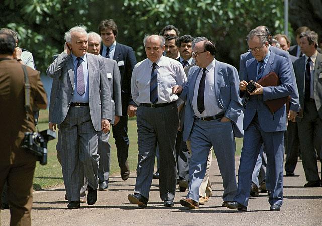 Во время визита Михаила Горбачева на Кубу в апреле 1989 года