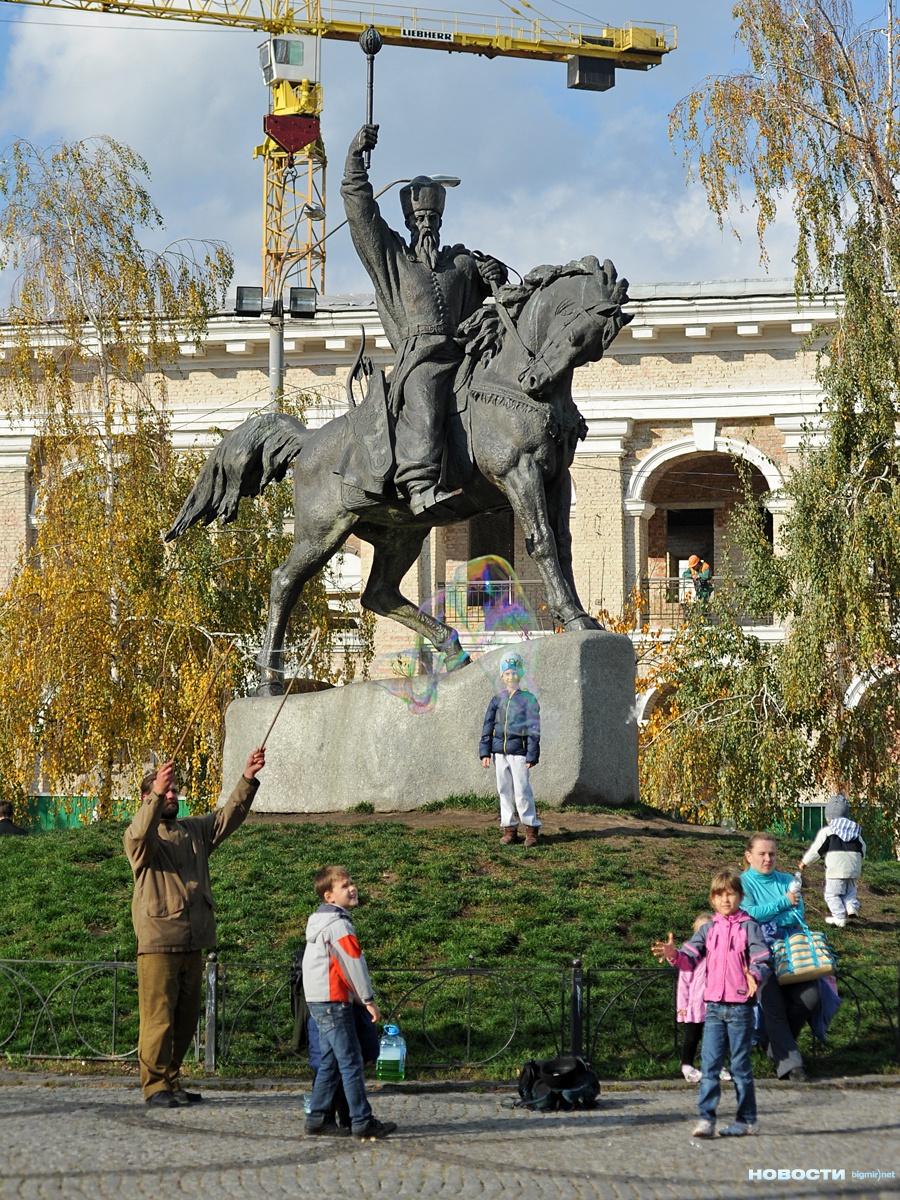 Осенний Подол, Киев