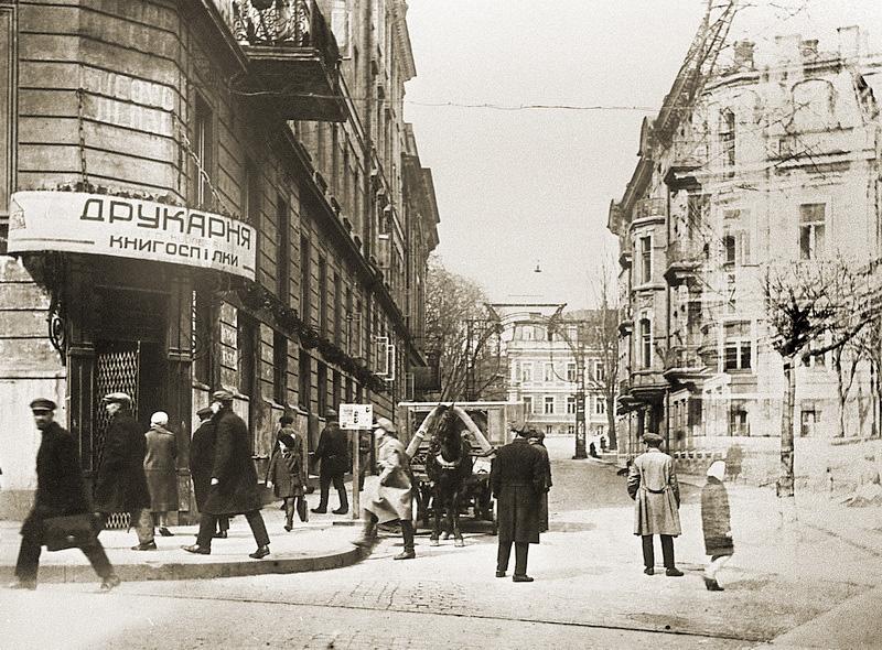 На улице Прорезной был Музыкальный переулок
