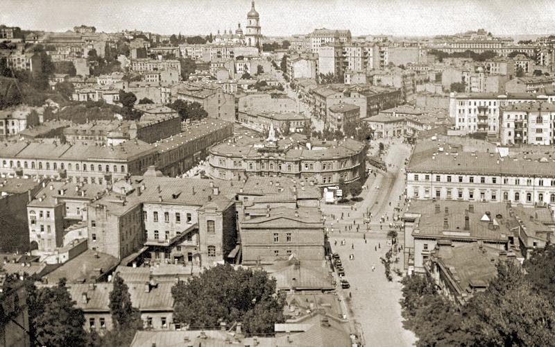 Центр довоенного Киева