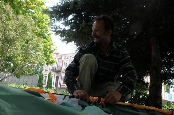 Единственный врадиевчанин, идущий на Киев