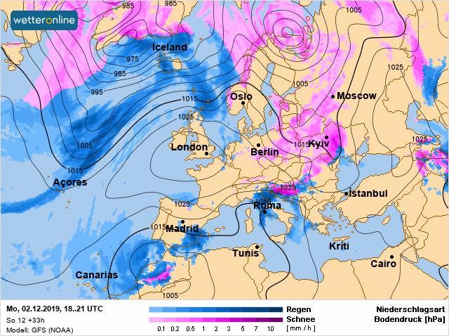 Прогноз погоды на ближайшую неделю от Натальи Диденко