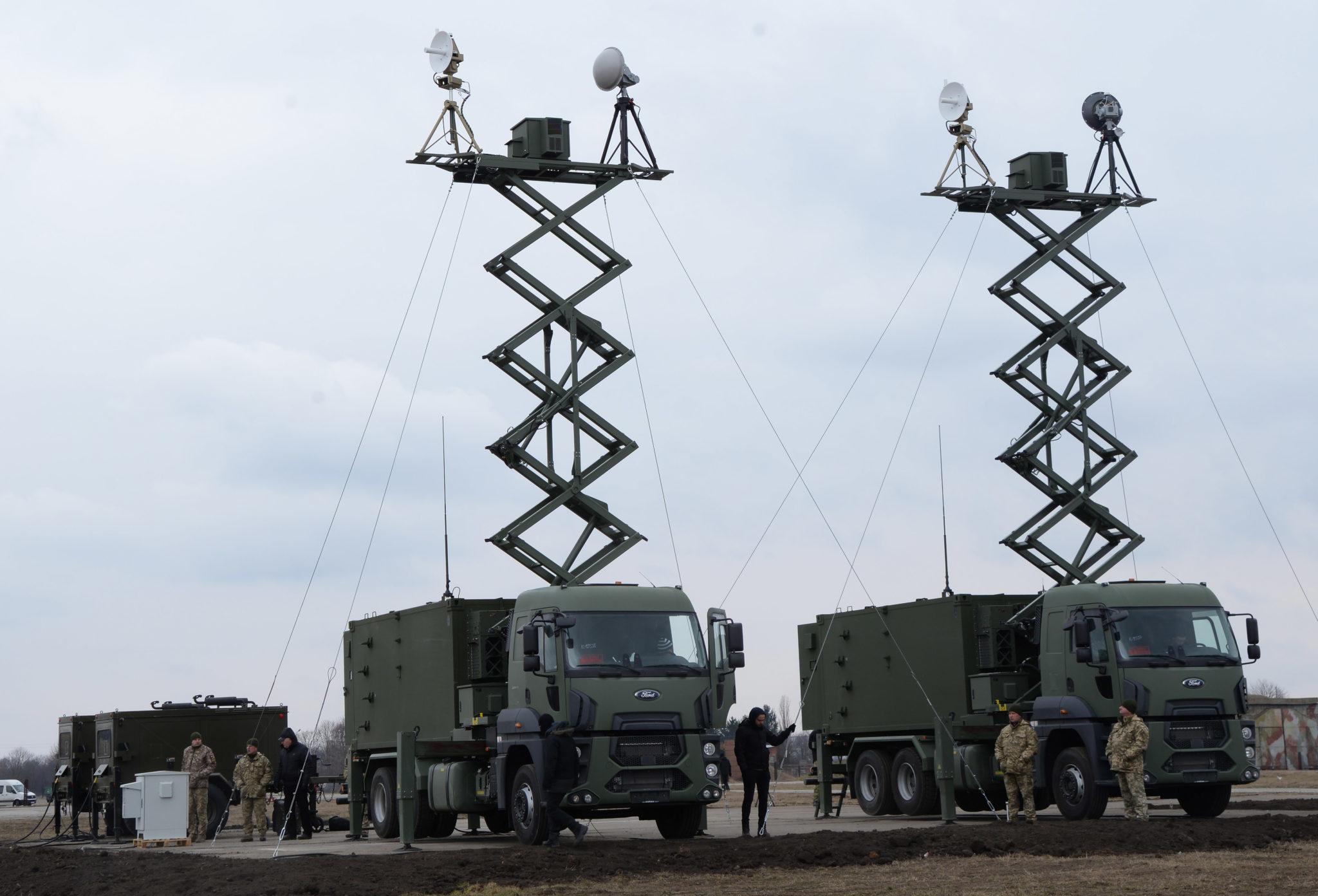Наземные станции управления беспилотником