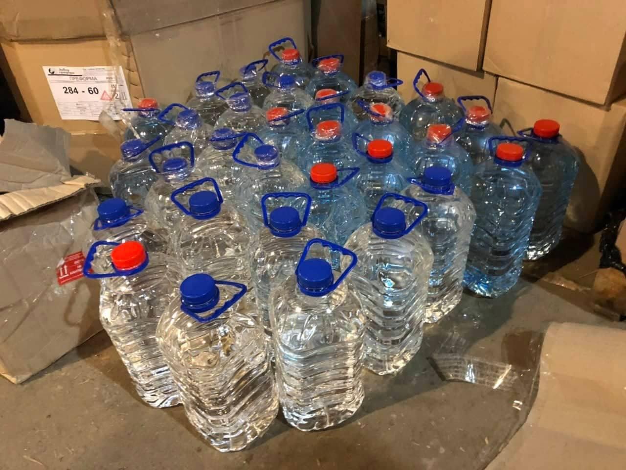 На складе нашли 300 л спирта