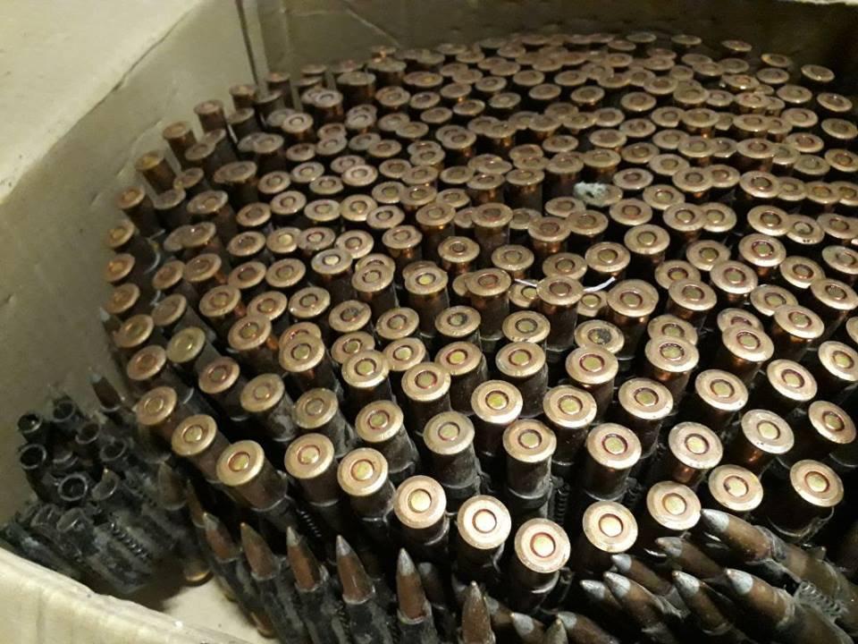 Местные жители обвиняются в незаконном обращении с боеприпасами