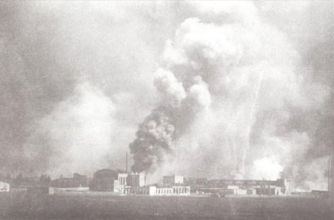 22 июня: горит военный завод №43 по Брест-Литовскому шоссе