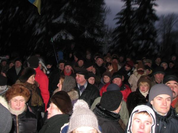 Штурм ОГА в Тернополе