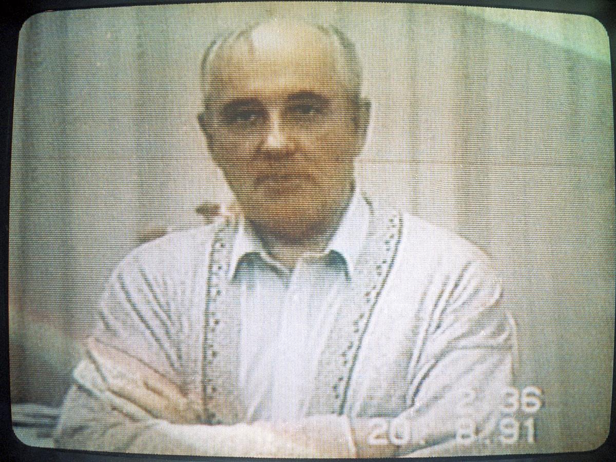 Августовский путч. Горбачева блокировали на Форосе