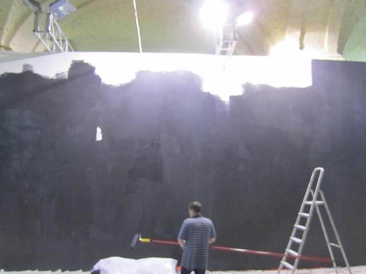 Закрашенная картина Кузнецова