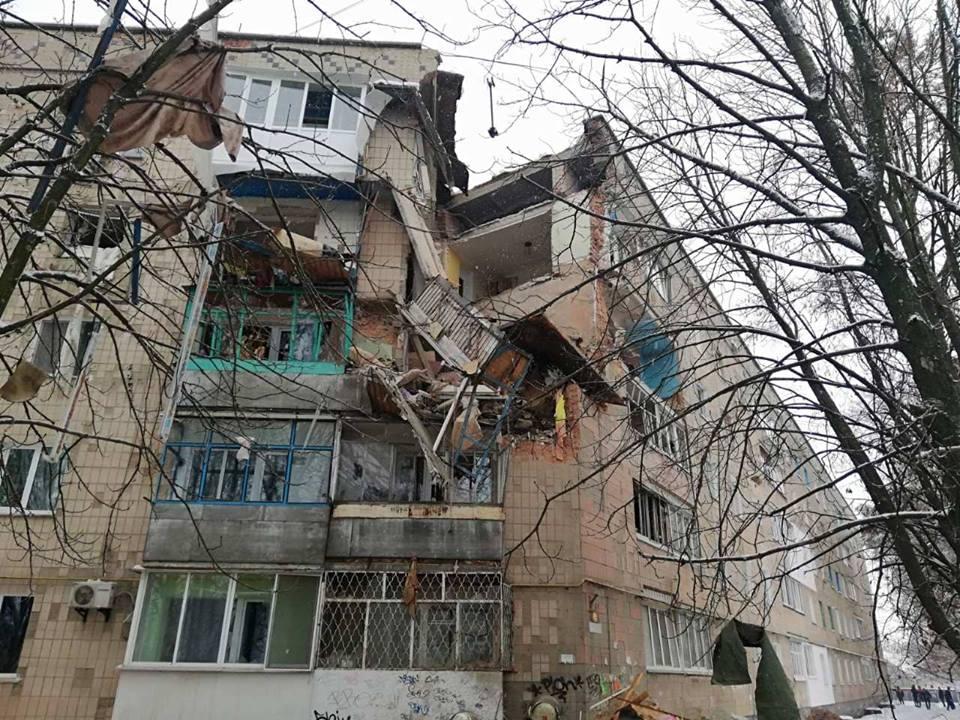 Больше всего пострадали квартиры на 3,4 и 5 этажах