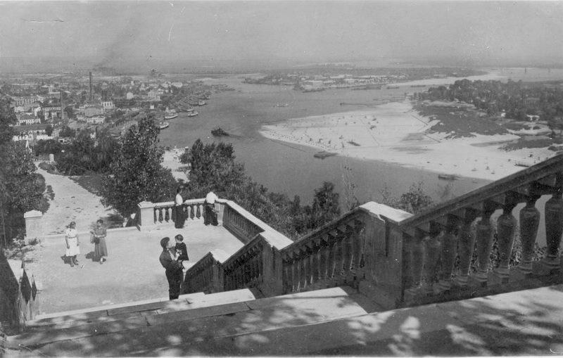 Пляжи Киева. 1930-е года.