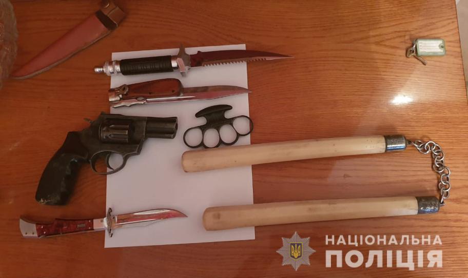 Фото изъятого оружия