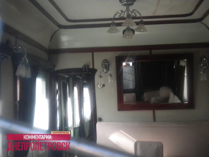 Внешний вид вагона патриарха Кирилла