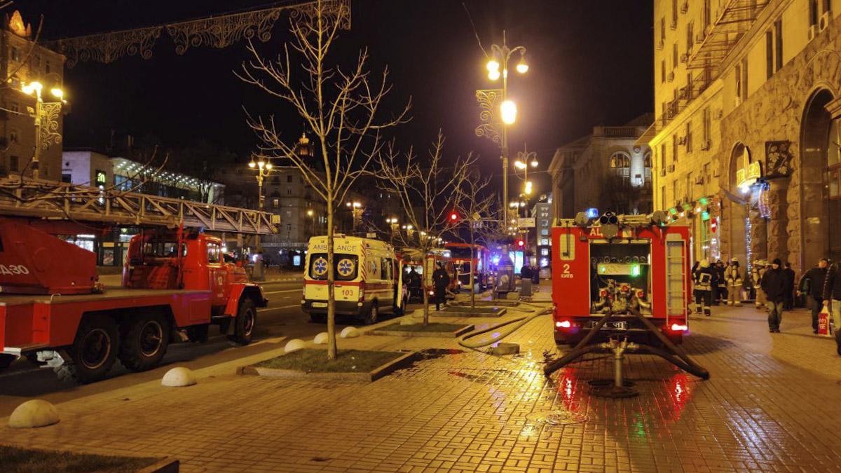 Фото из места пожара