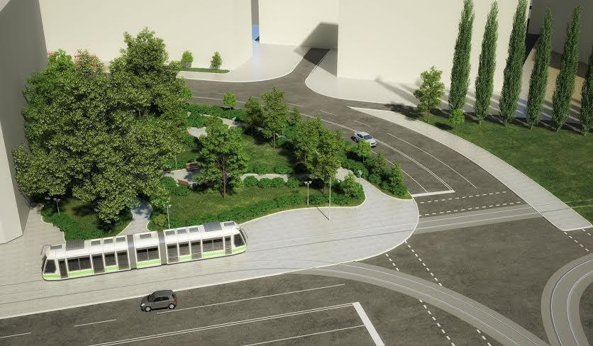 Проект транспортной развязки на Лукьяновке