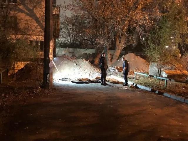 Боеприпасы изъяли возле Шулявского моста