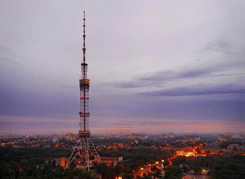 Киевской телебашне исполнилось 40 лет