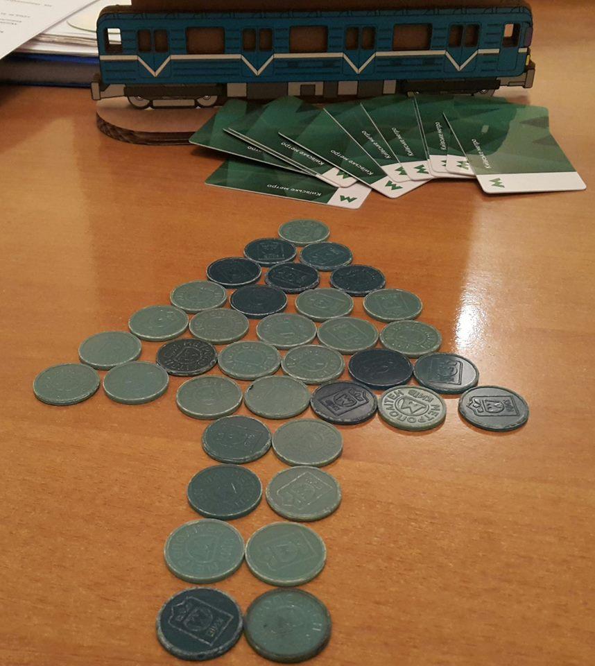 Ноу-хау отметрополитена: Вкассах ограничат количество жетонов