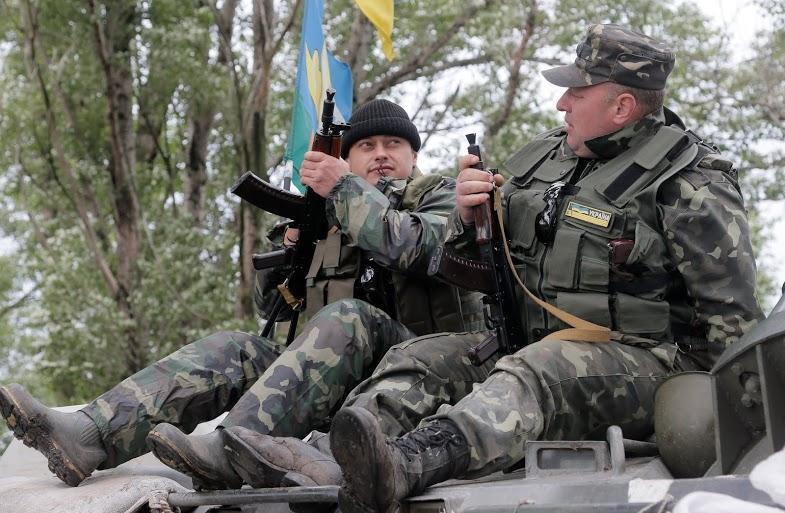 На Донбассе активизировались боевые действия