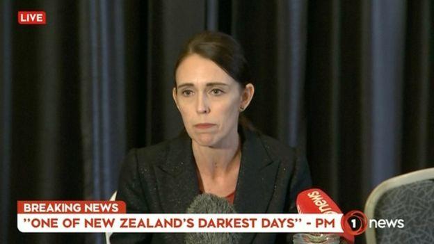 Премьер-министр Новой Зеландии прокомментировала ситуацию