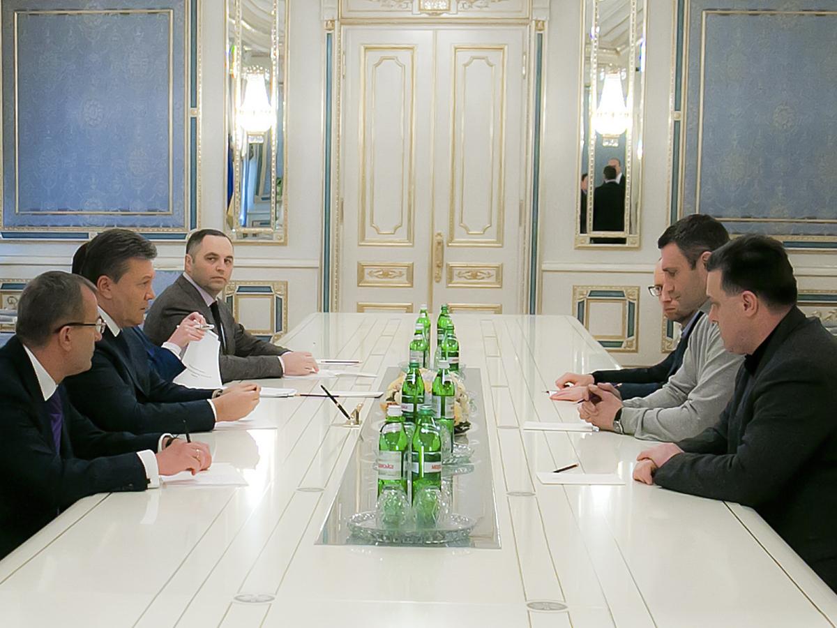 Переговоры в Администрации президента