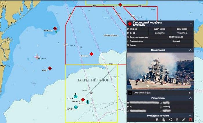 Схема движения российского корабля