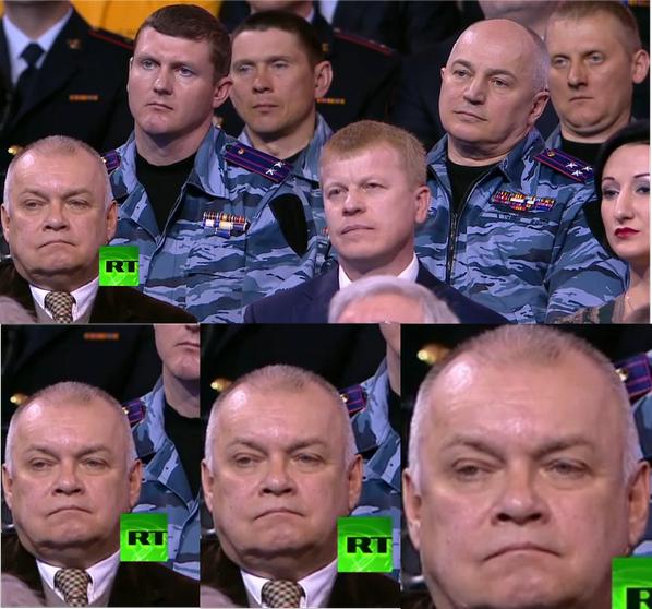 Дмитрий Киселев на прямой линии с Путиным