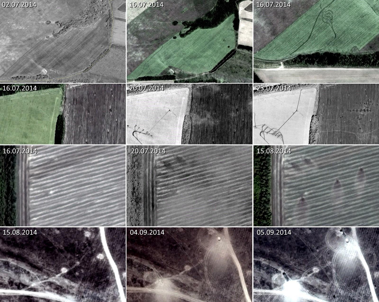 Bellingcat: обстрелы украинских войск из Российской Федерации были массированными