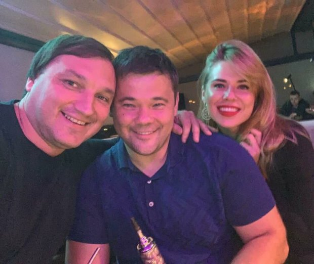 Богдан отдыхал с другом и девушкой