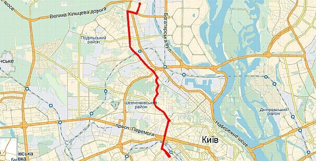 Троллейбусный маршрут №33 «