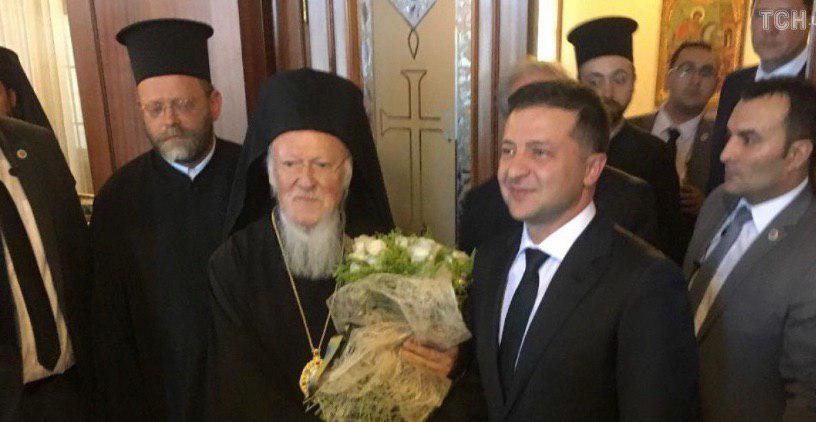 Патриарх обрадовался официальности визита Зе