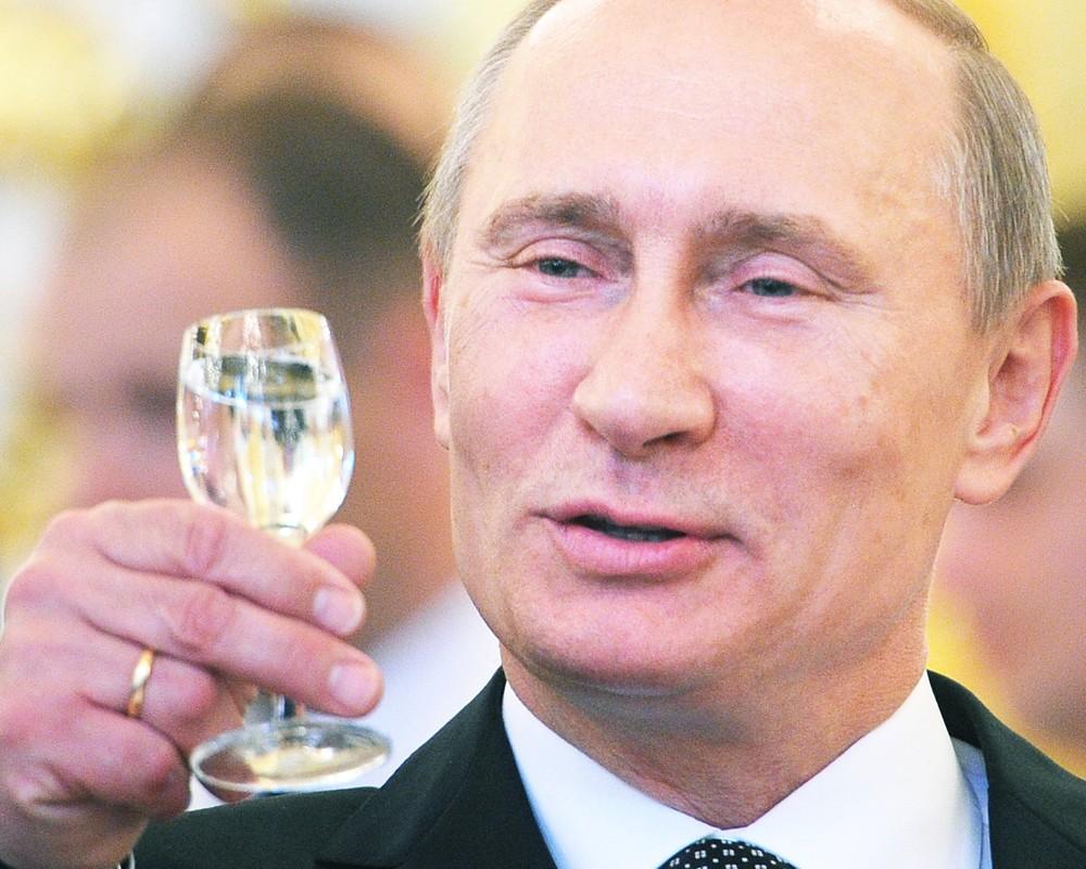 Поздравление фото путин